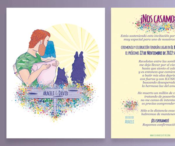 fabulas-con-moraleja-empoderamiento-femenino-invitaciones-boda-personalizadas
